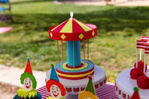 Circus Big Top Carnival Themed Party via Kara's Party Ideas karaspartyideas.com #circus #carnival #party #ideas #idea #cake #decor #supplies (21)