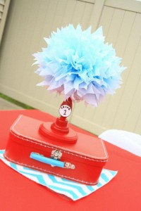 Thing One & Thing Two Dr Seuss Themed Birthday Party for twins via Kara's Party Ideas karaspartyideas.com supplies cake decorations gender neutral decor tips activities games books birthday (36)