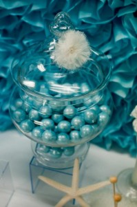 Under the Sea Mermaid 3rd Birthday Party via Kara's Party Ideas KarasPartyIdeas.com #mermaid #under #sea #birthday #party #cake #decorations #idea #supplies (19)