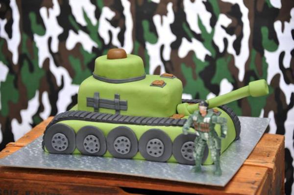 Karas Party Ideas Army Military Camouflage Themed Boy Birthday
