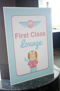 Girly Airplane Airline themed birthday party via Kara's Party Ideas karaspartyideas.com #airline #airplane #plane #party #idea #cake #girly #girl supplies decorations (10)