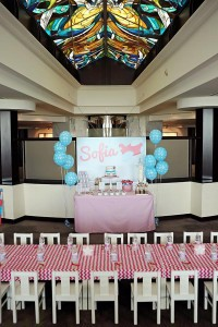 Girly Airplane Airline themed birthday party via Kara's Party Ideas karaspartyideas.com #airline #airplane #plane #party #idea #cake #girly #girl supplies decorations (3)