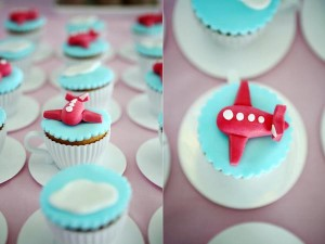 Girly Airplane Airline themed birthday party via Kara's Party Ideas karaspartyideas.com #airline #airplane #plane #party #idea #cake #girly #girl supplies decorations (1)