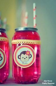Girly monkey themed birthday party via Kara's Party Ideas karaspartyideas.com #girly #monkey #themed #party #ideas #idea #birthday (9)