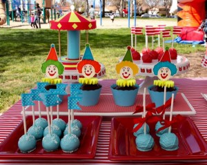 Circus Big Top Carnival Themed Party via Kara's Party Ideas karaspartyideas.com #circus #carnival #party #ideas #idea #cake #decor #supplies (19)