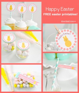 FREE Easter Party Printable Tags + Cupcake Toppers via Kara's Party Ideas KarasPartyIdeas.com-10 (9)