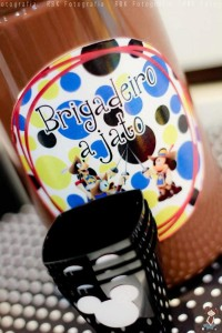 Mickey Mouse Musketeer + Mouseketeer themed birthday party via Kara's Party Ideas Mickey Mouse Party Supplies Shop (23)