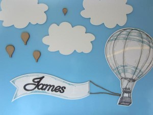 Hot Air Balloon Christening or birthday party via Kara's Party Ideas karaspartyideas.com #hot #air #balloon #christening #party #birthday #ideas #decor #cake (15)