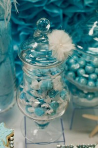 Under the Sea Mermaid 3rd Birthday Party via Kara's Party Ideas KarasPartyIdeas.com #mermaid #under #sea #birthday #party #cake #decorations #idea #supplies (13)
