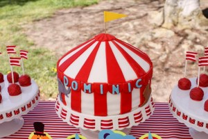 Circus Big Top Carnival Themed Party via Kara's Party Ideas karaspartyideas.com #circus #carnival #party #ideas #idea #cake #decor #supplies (15)