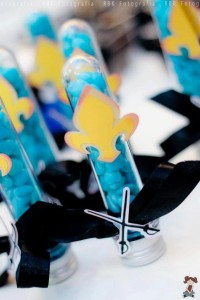 Mickey Mouse Musketeer + Mouseketeer themed birthday party via Kara's Party Ideas Mickey Mouse Party Supplies Shop (22)
