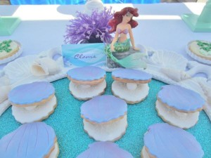 Little Mermaid Under the Sea themed birthday party via Kara's Party Ideas karaspartyideas.com #ariel #mermaid #themed #birthday #party #ideas #cake #decor #supplies (20)