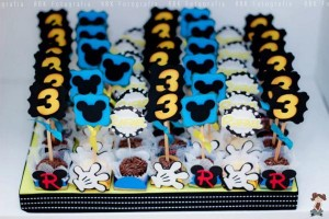 Mickey Mouse Musketeer + Mouseketeer themed birthday party via Kara's Party Ideas Mickey Mouse Party Supplies Shop (21)