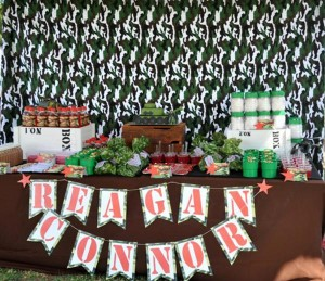 Army Themed Birthday Party via Karas Party Ideas karaspartyideas.com #army #themed #birthday #party #cake #decor #ideas (10)