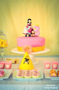 Girly monkey themed birthday party via Kara's Party Ideas karaspartyideas.com #girly #monkey #themed #party #ideas #idea #birthday (4)