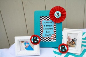 Thing One & Thing Two Dr Seuss Themed Birthday Party for twins via Kara's Party Ideas karaspartyideas.com supplies cake decorations gender neutral decor tips activities games books birthday (19)