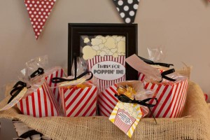 Vintage Movie Themed Birthday Party via Kara's Party Ideas KarasPartyIdeas.com #vintage #movie #party #birthday #planning #ideas #cake #decorations #favors #idea #supplies (4)