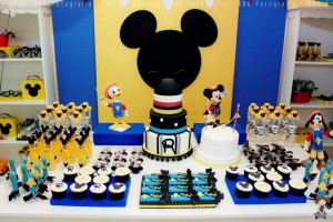 Mickey Mouse Musketeer + Mouseketeer themed birthday party via Kara's Party Ideas Mickey Mouse Party Supplies Shop (15)