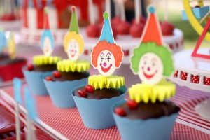 Circus Big Top Carnival Themed Party via Kara's Party Ideas karaspartyideas.com #circus #carnival #party #ideas #idea #cake #decor #supplies (8)