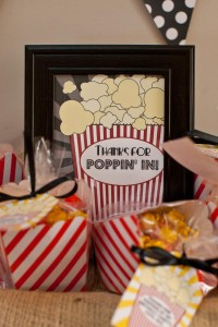 Vintage Movie Themed Birthday Party via Kara's Party Ideas KarasPartyIdeas.com #vintage #movie #party #birthday #planning #ideas #cake #decorations #favors #idea #supplies (3)