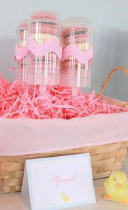 Seersucker & Bow Tie Easter Party or baby shower idea via Kara's Party Ideas karaspartyideas.com Bunny Birthday First Easter Party Supplies (24)
