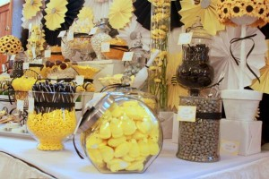 What will it BEE Baby Shower via Kara's Party Ideas karaspartyideas.com #gender #reveal #baby #shower #what #will #it #BEE #idea (9)