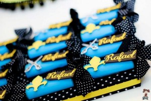 Mickey Mouse Musketeer + Mouseketeer themed birthday party via Kara's Party Ideas Mickey Mouse Party Supplies Shop (10)