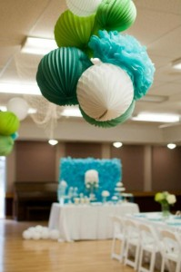 Under the Sea Mermaid 3rd Birthday Party via Kara's Party Ideas KarasPartyIdeas.com #mermaid #under #sea #birthday #party #cake #decorations #idea #supplies (5)