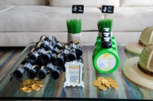 Safari Jungle themed birthday party via Kara's Party Ideas #jungle #safari #birthday #party #ideas #cake #idea #baby #shower #1st #decorations #supplies (7)