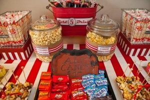 Vintage Movie Themed Birthday Party via Kara's Party Ideas KarasPartyIdeas.com #vintage #movie #party #birthday #planning #ideas #cake #decorations #favors #idea #supplies (41)
