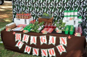 Army Themed Birthday Party via Karas Party Ideas karaspartyideas.com #army #themed #birthday #party #cake #decor #ideas (6)