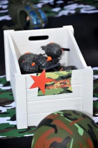 Army Themed Birthday Party via Karas Party Ideas karaspartyideas.com #army #themed #birthday #party #cake #decor #ideas (5)