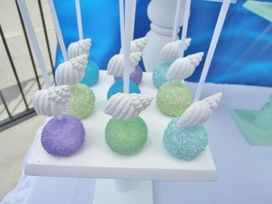 Little Mermaid Under the Sea themed birthday party via Kara's Party Ideas karaspartyideas.com #ariel #mermaid #themed #birthday #party #ideas #cake #decor #supplies (3)