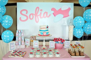 Girly Airplane Airline themed birthday party via Kara's Party Ideas karaspartyideas.com #airline #airplane #plane #party #idea #cake #girly #girl supplies decorations (21)