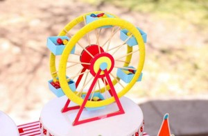 Circus Big Top Carnival Themed Party via Kara's Party Ideas karaspartyideas.com #circus #carnival #party #ideas #idea #cake #decor #supplies (29)