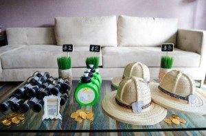 Safari Jungle themed birthday party via Kara's Party Ideas #jungle #safari #birthday #party #ideas #cake #idea #baby #shower #1st #decorations #supplies (50)
