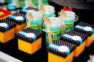 Mickey Mouse Musketeer + Mouseketeer themed birthday party via Kara's Party Ideas Mickey Mouse Party Supplies Shop (6)