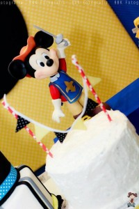 Mickey Mouse Musketeer + Mouseketeer themed birthday party via Kara's Party Ideas Mickey Mouse Party Supplies Shop (35)