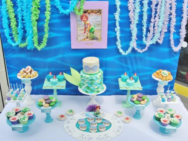 Idea for the little princess room kids room ideas pinterest - Kara S Party Ideas Disney Princess Ariel Ocean Under The