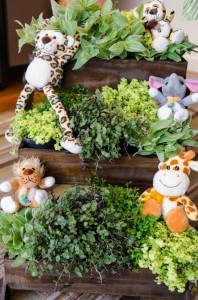 Safari Jungle themed birthday party via Kara's Party Ideas #jungle #safari #birthday #party #ideas #cake #idea #baby #shower #1st #decorations #supplies (48)
