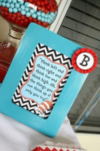 Thing One & Thing Two Dr Seuss Themed Birthday Party for twins via Kara's Party Ideas karaspartyideas.com supplies cake decorations gender neutral decor tips activities games books birthday (61)