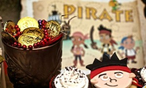 Jake and the neverland pirates themed birthday party via Kara's Party Ideas karaspartyideas.com #jake #neverland #pirates #cake #party #idea (2)