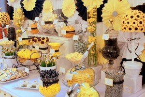 What will it BEE Baby Shower via Kara's Party Ideas karaspartyideas.com #gender #reveal #baby #shower #what #will #it #BEE #idea (3)