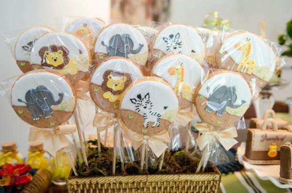 baby shower favors safari theme baby shower