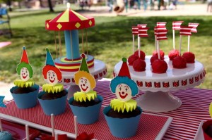 Circus Big Top Carnival Themed Party via Kara's Party Ideas karaspartyideas.com #circus #carnival #party #ideas #idea #cake #decor #supplies (2)