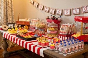 Vintage Movie Themed Birthday Party via Kara's Party Ideas KarasPartyIdeas.com #vintage #movie #party #birthday #planning #ideas #cake #decorations #favors #idea #supplies (39)