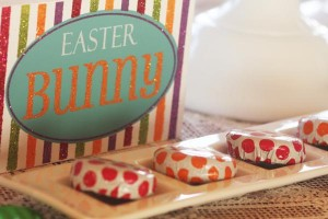 Fanciful Easter themed party with FREE PRINTABLES via Kara's Party Ideas karaspartyideas.com #fanciful #sparkle #easter #spring #bunny #party #ideas #food #decor #dessert #treats #favors (18)