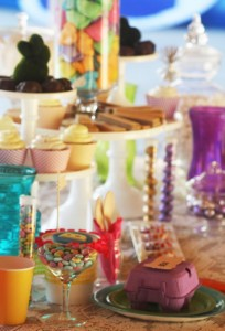 Fanciful Easter themed party with FREE PRINTABLES via Kara's Party Ideas karaspartyideas.com #fanciful #sparkle #easter #spring #bunny #party #ideas #food #decor #dessert #treats #favors (16)