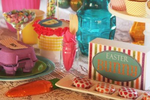 Fanciful Easter themed party with FREE PRINTABLES via Kara's Party Ideas karaspartyideas.com #fanciful #sparkle #easter #spring #bunny #party #ideas #food #decor #dessert #treats #favors (15)