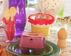 Fanciful Easter themed party with FREE PRINTABLES via Kara's Party Ideas karaspartyideas.com #fanciful #sparkle #easter #spring #bunny #party #ideas #food #decor #dessert #treats #favors (14)